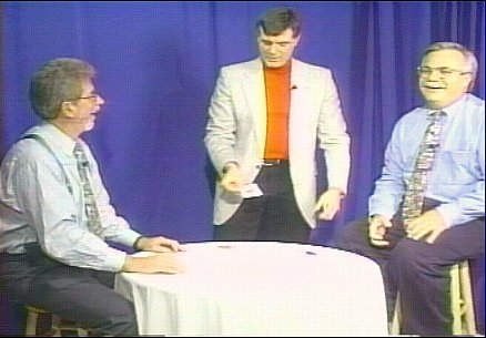 Mr. Jann Entertaining On The Jerry & Jerry Cable TV Show